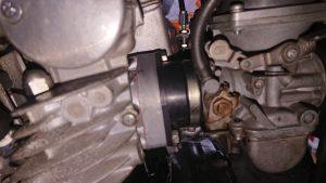 GS400の押しキャブ
