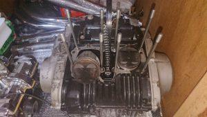 ザリのエンジン腰下