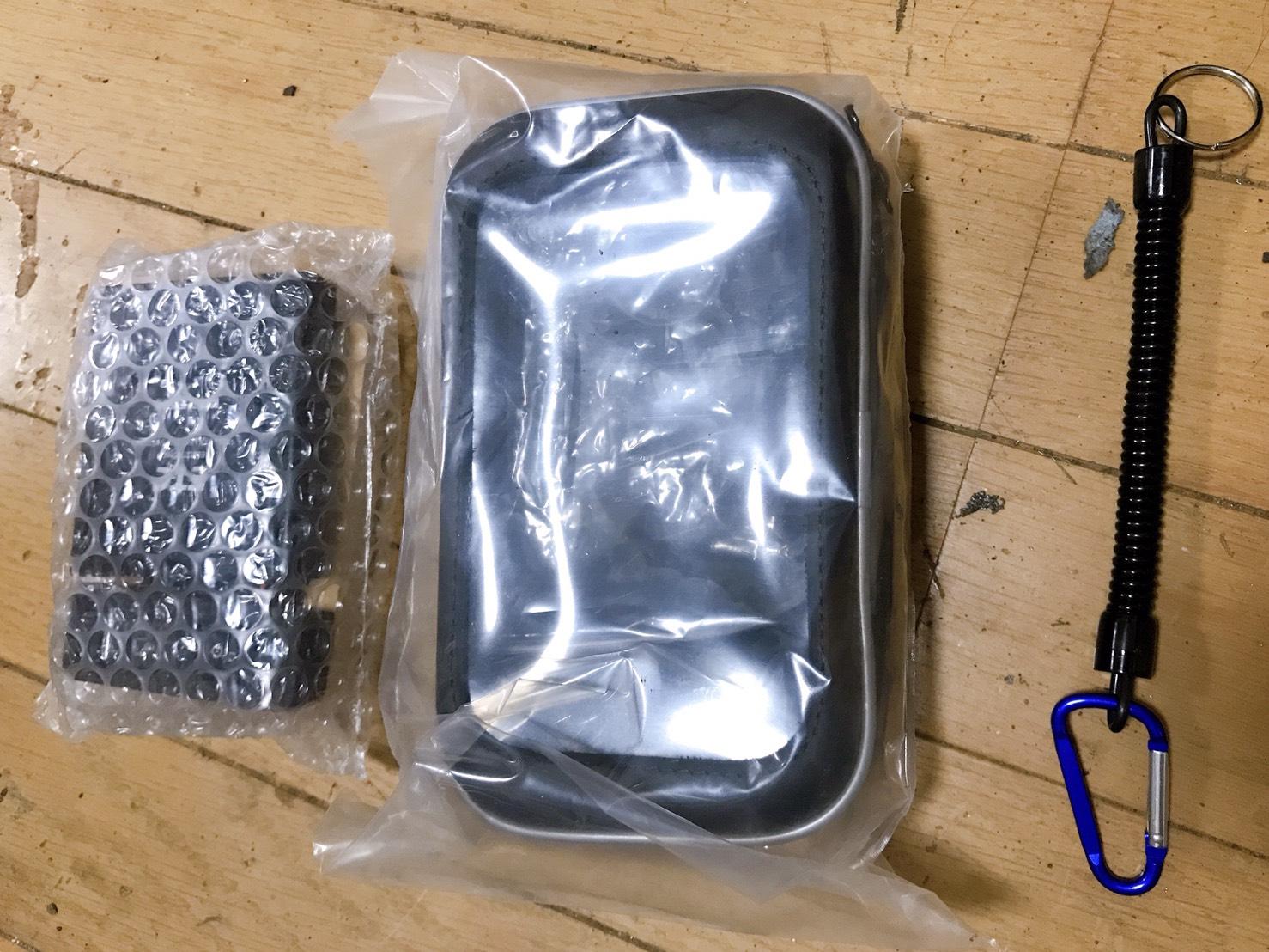 乾電池式ETC付属品