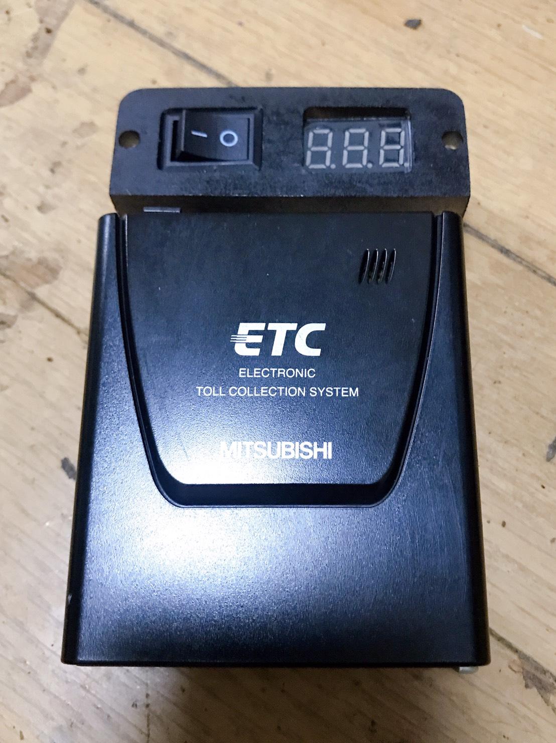 乾電池式ETC単体