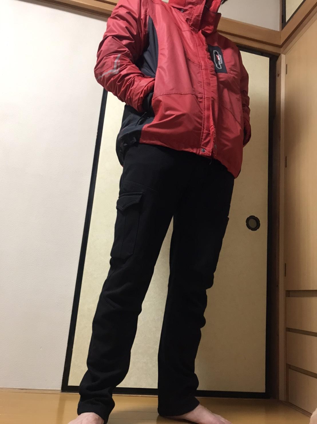 フィールドコア防寒パンツとイージス360