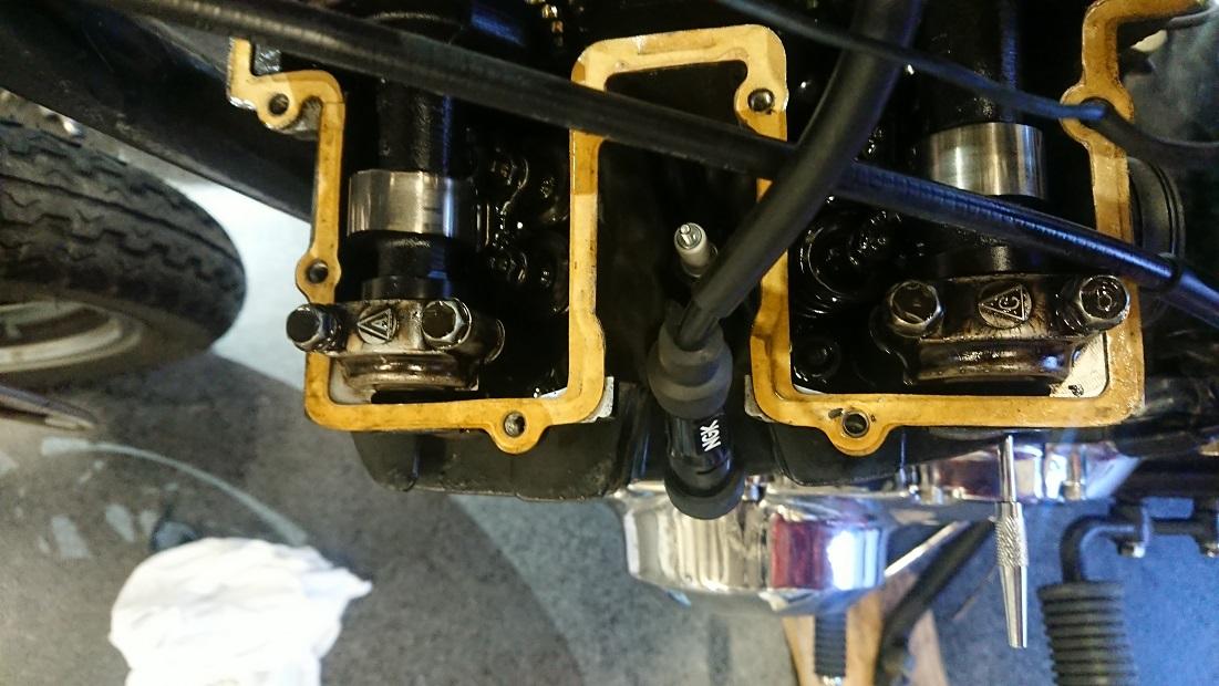 GS400カムホルダーのトルクチェック