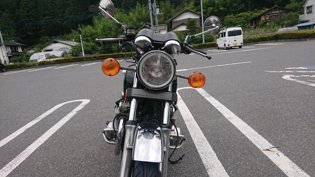 GS1000アルキャハンズのハンドル正面